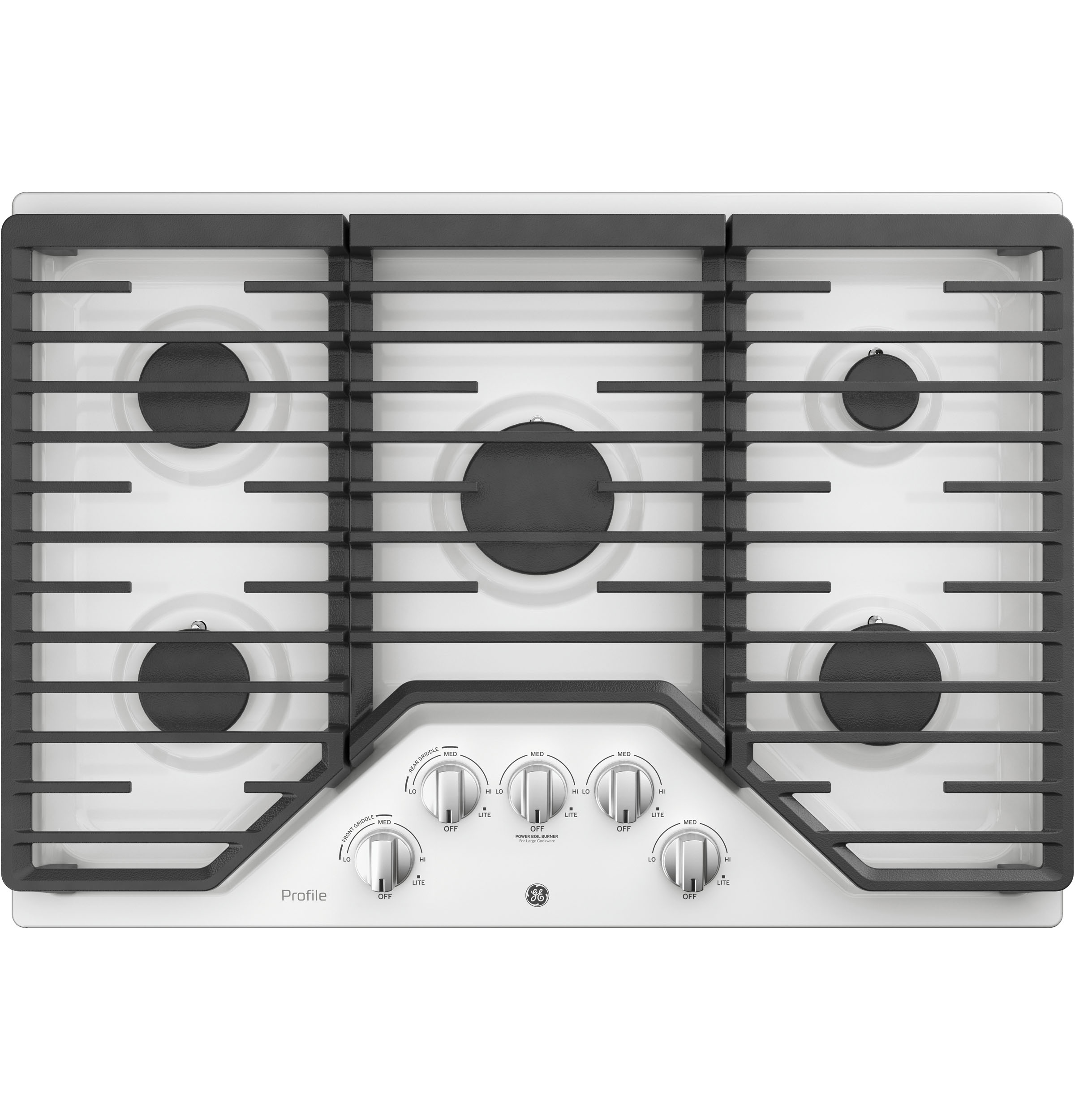 "Model: PGP7030DLWW | GE Profile GE Profile™ Series 30"" Built-In Gas Cooktop"