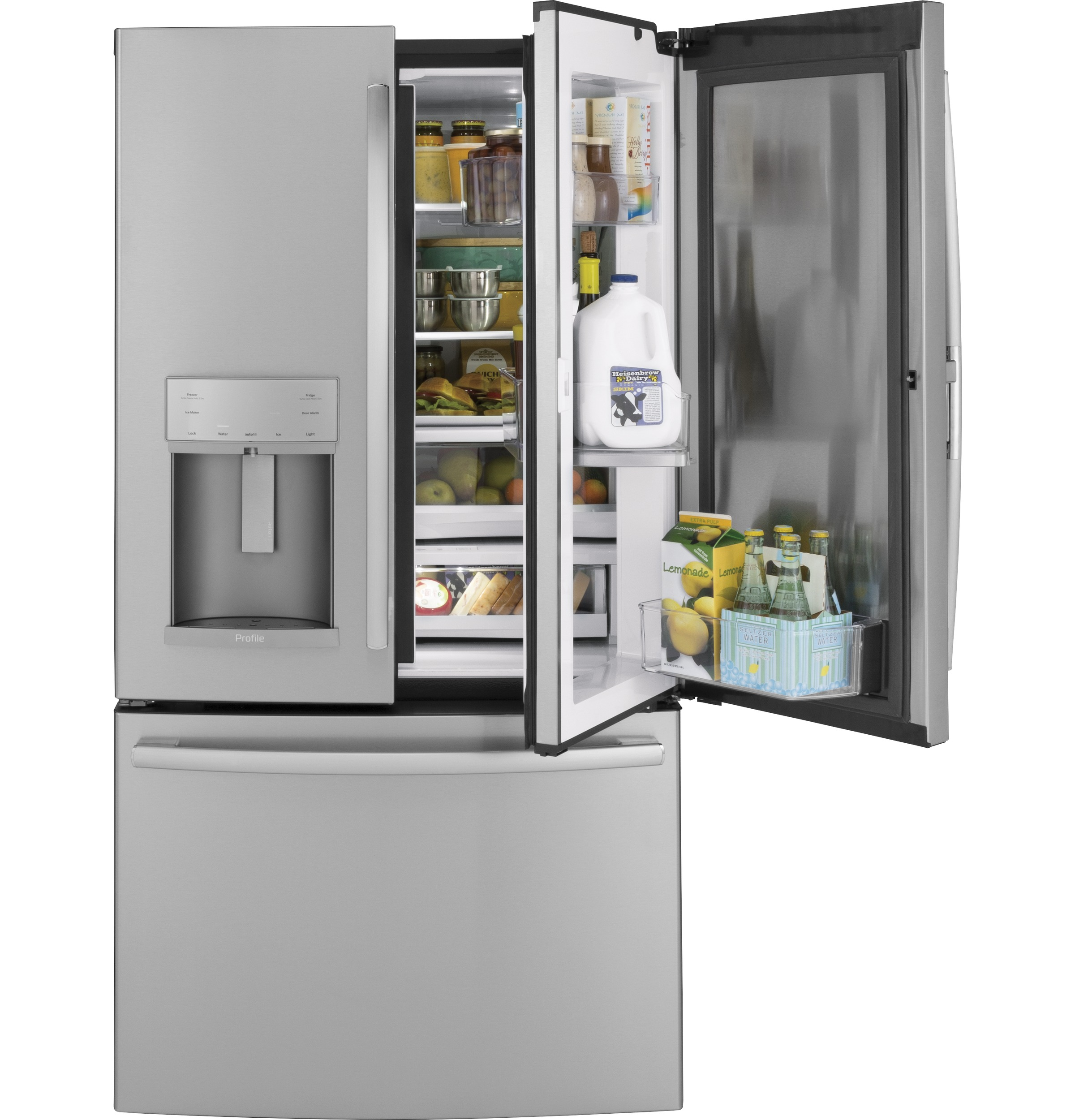 GE Profile™ Series 22.2 Cu. Ft. Counter-Depth French-Door Refrigerator