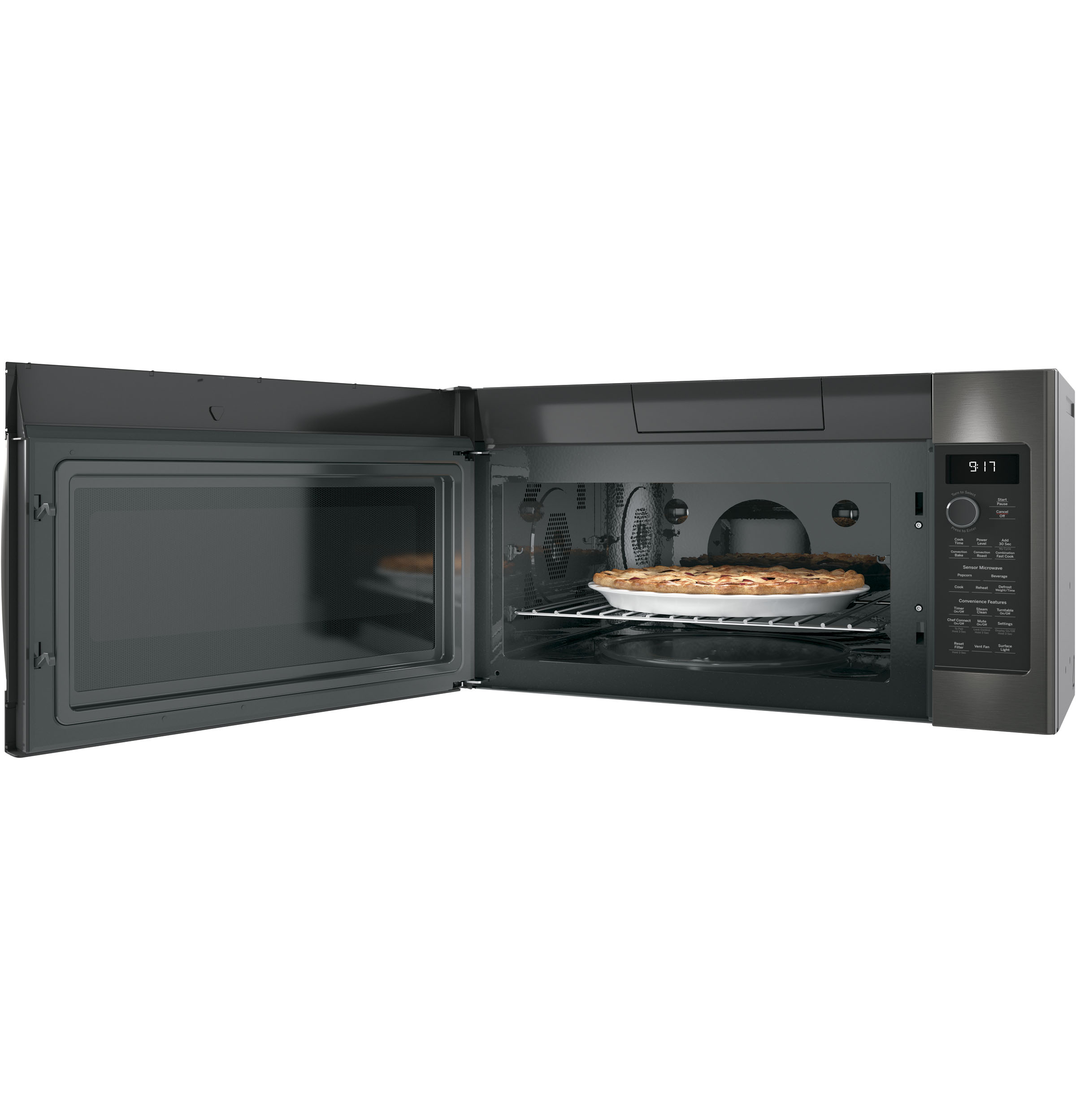 Model: PVM9179BLTS | GE Profile GE Profile™ Series 1.7 Cu. Ft. Convection Over-the-Range Microwave Oven