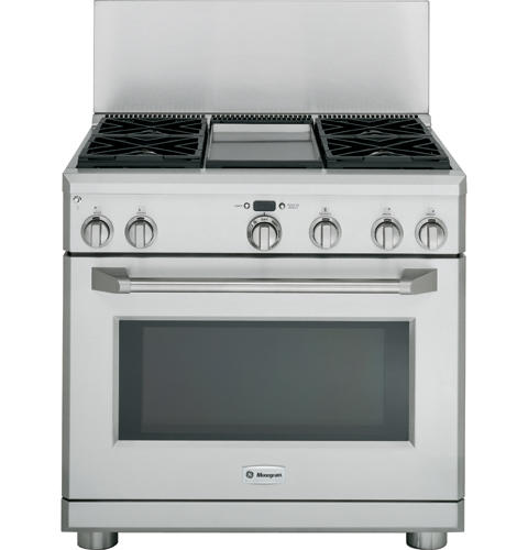 "Model: UX12B36PSS | GE Cafe Cafe 12"" Professional Backsplash"