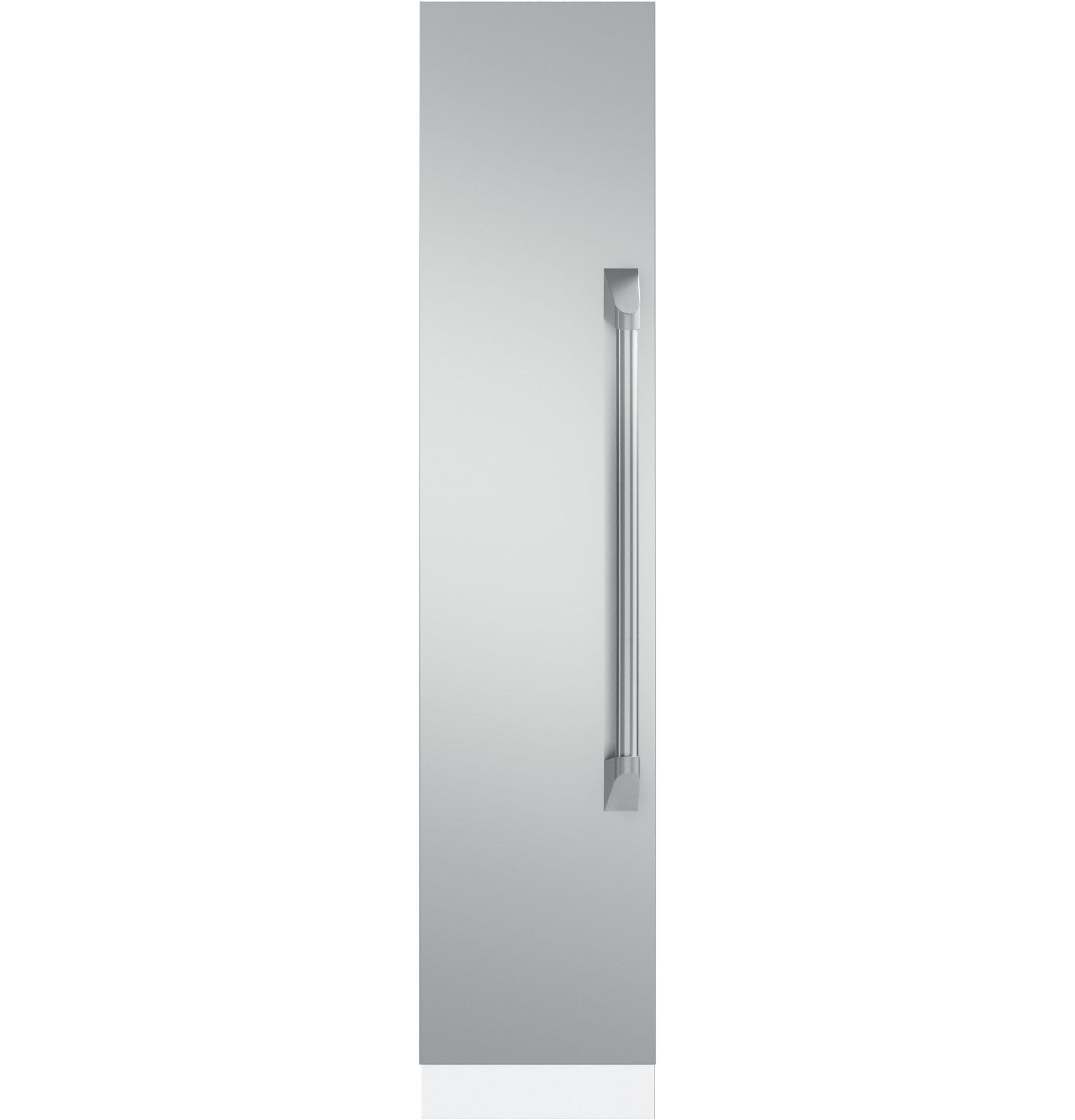 "Monogram 18"" Fully Integrated Freezer- Pro Stainless Steel Door Panel Kit"