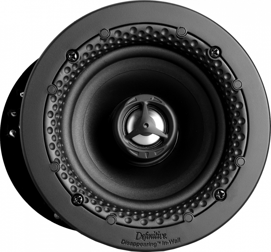 "Disappearing™ Series Round 4.5"" In-Wall / In-Ceiling Loudspeaker"