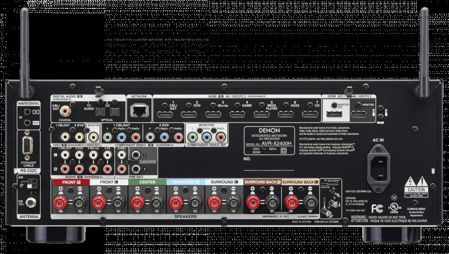 BP9020 Towers, CS9040 Center Channel, SR9040 Surround Speakers and Denon AVR-X2400H AV Receiver