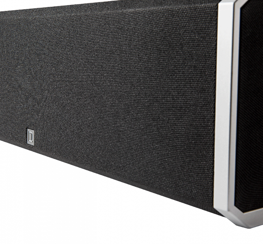 High-Performance Center Channel Speaker with Integrated 8