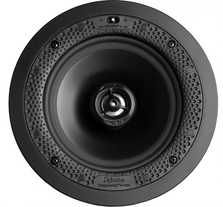 "Disappearing™ Series Round 6.5"" In-Wall / In-Ceiling Speaker"