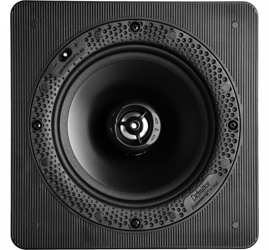"Disappearing™ Series Square 6.5"" In-Wall / In-Ceiling Loudspeaker"
