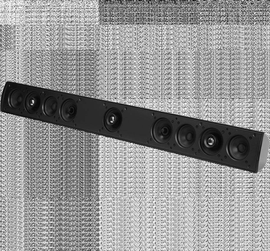 Single speaker surround solution - 5 channels from one superb speaker