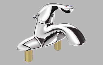 Delta Delta Classic: Single Handle Lavatory Faucet
