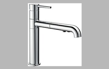 Delta 4159 Dst Delta Trinsic Single Handle Pull Out Kitchen Faucet 4159 Dst Snyder Diamond