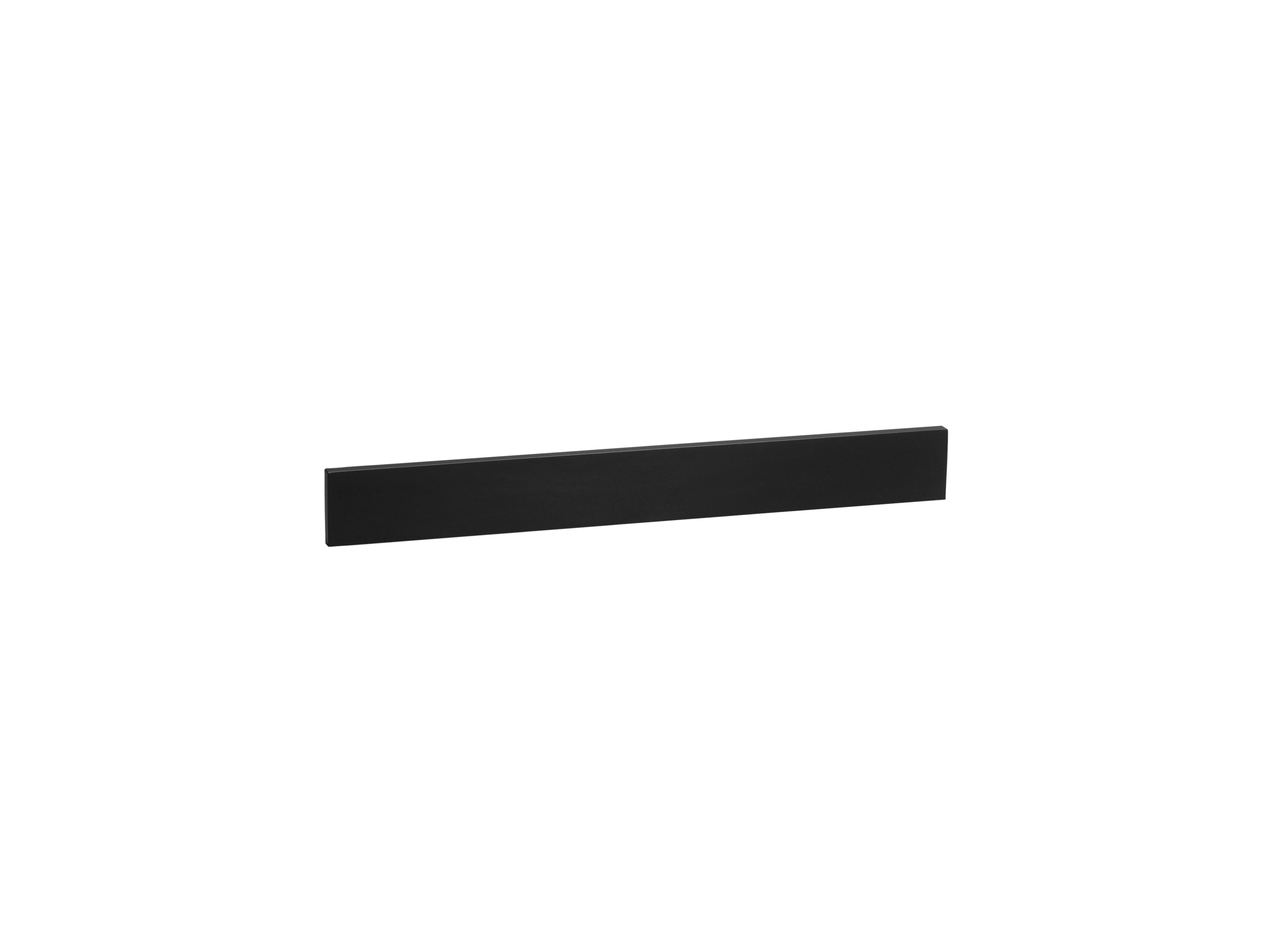 "Ronbow TechStone? 73"" x 3""  Backsplash in Broad Black"