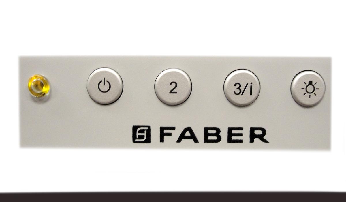 Faber - INSM24GR250-B - Versatile built in range hood