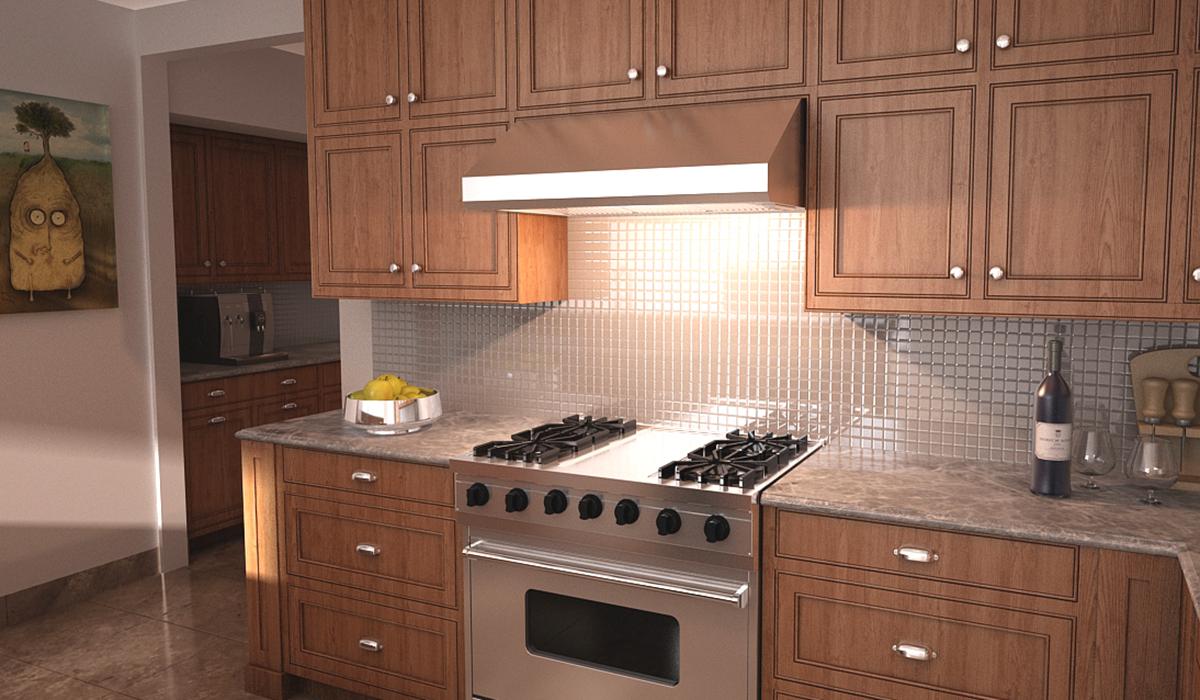stylish profesional kitchen wall range hood
