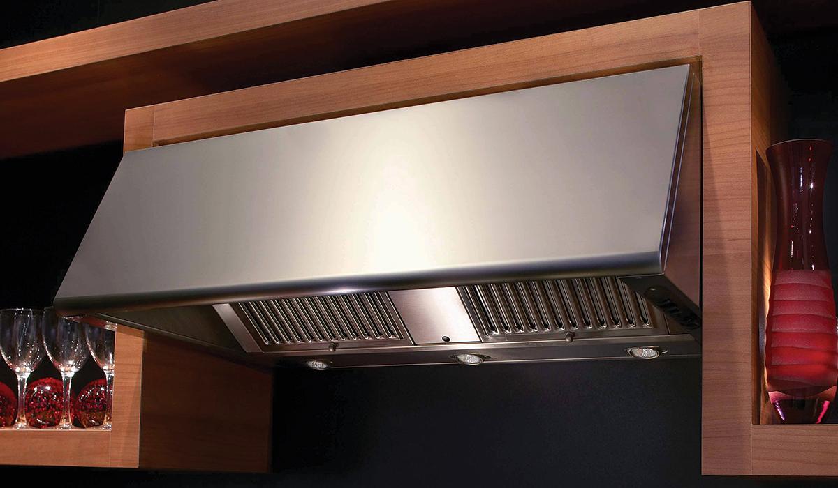 Stylish Professional Kitchen Under Cabinet Range Hood