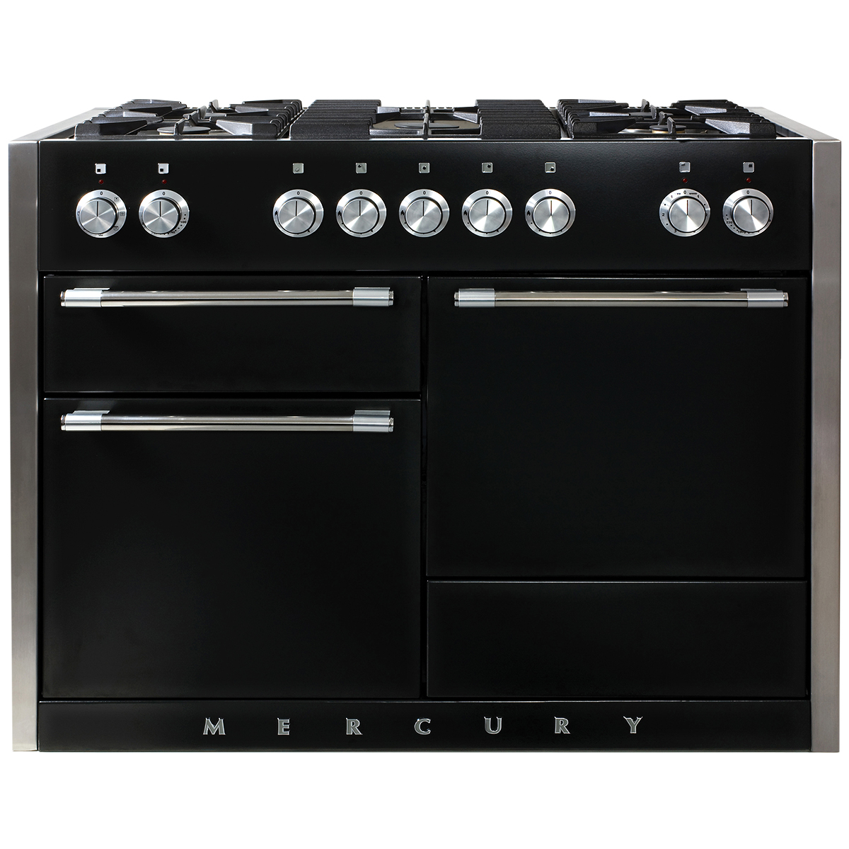 "Model: AMC48DF-BLK | Aga AGA Mercury 48"" Dual Fuel Range"