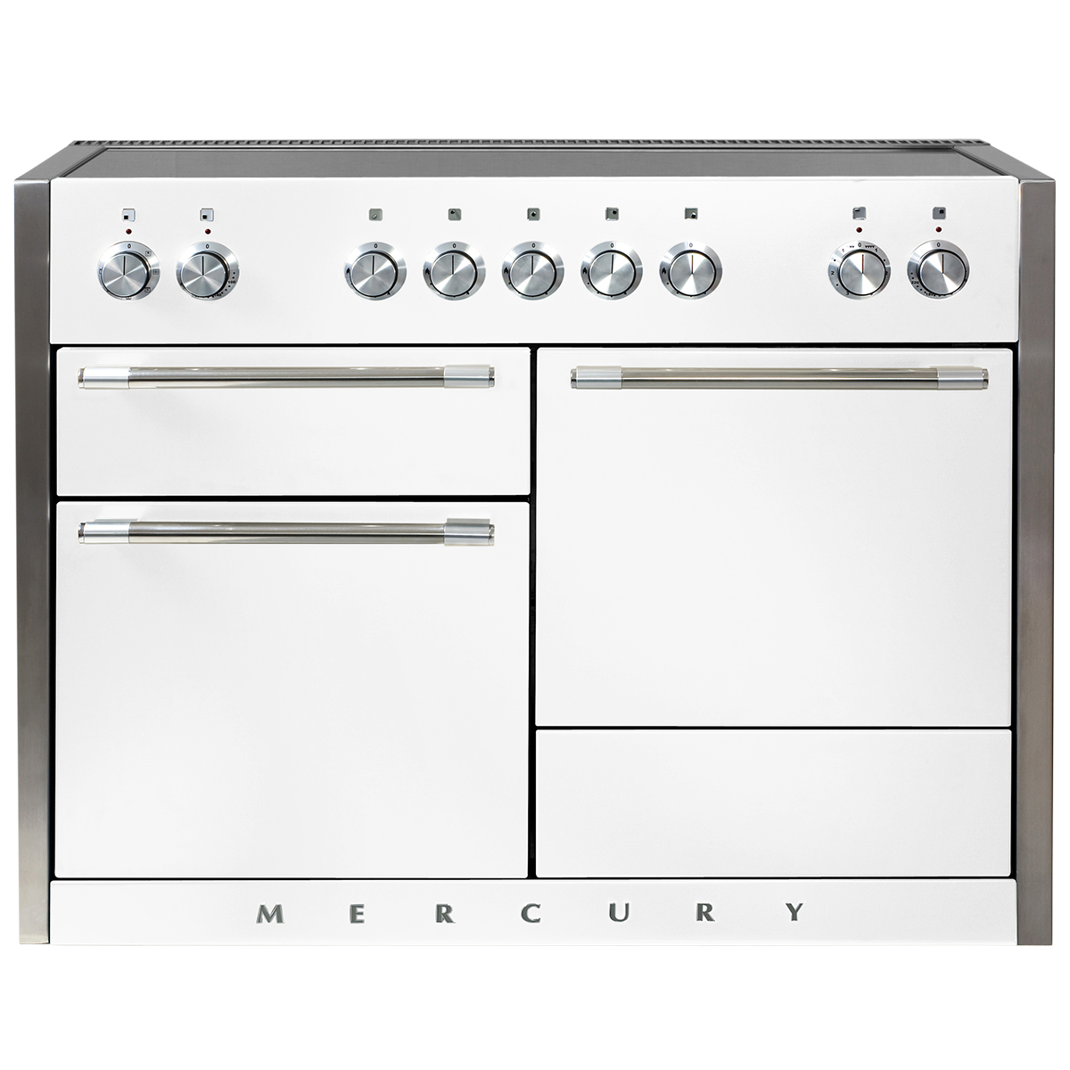 "Model: AEL48IN-WHT | Aga AGA Mercury 48"" Induction Range"