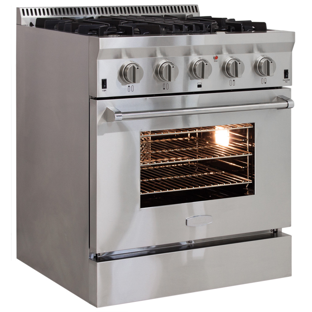 Model: APRO30AGSS   AGA Professional Gas Range with RapidBake Convection-30