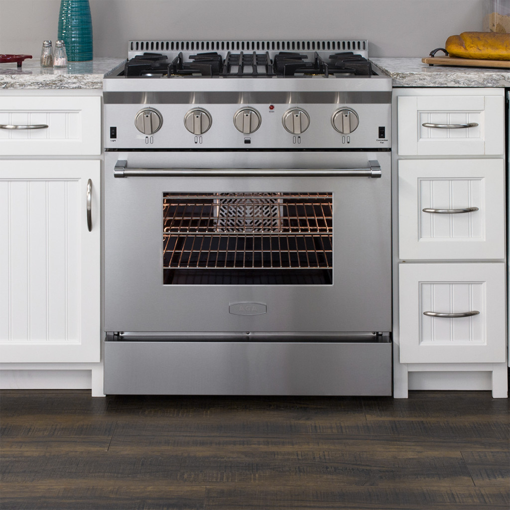 Model: APRO30AGSS | Aga AGA Professional Gas Range with RapidBake Convection-30""