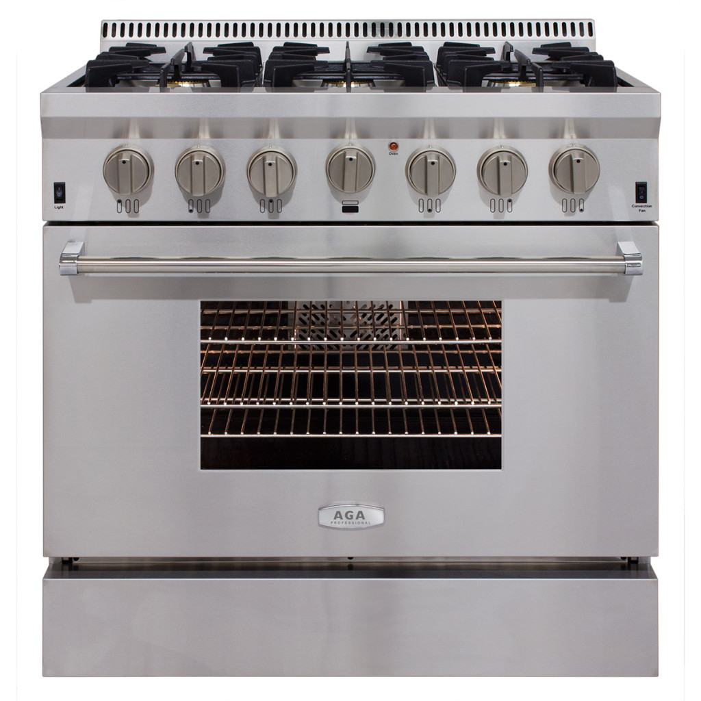 AGA Professional Gas Range with RapidBake Convection-36
