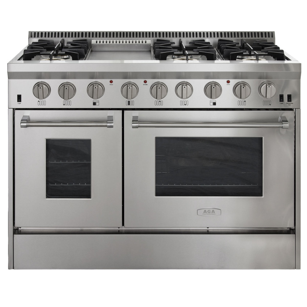 AGA Professional Gas Range with RapidBake Convection-48