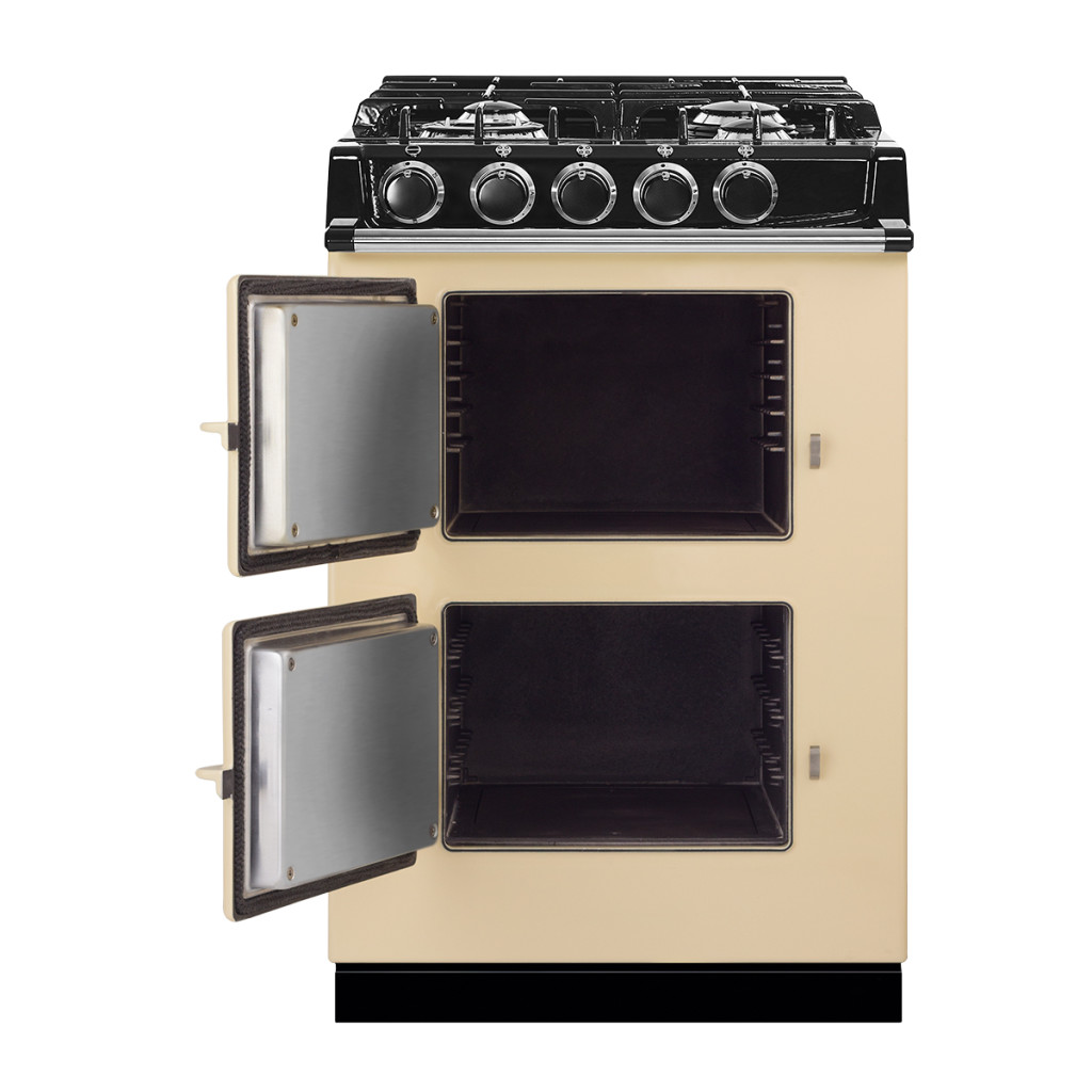 Model: ATC2DF-CLT | AGA City24 Dual Fuel (Cast Iron Range with Gas Stove Top)