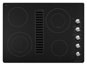 30-Inch 4 Element Downdraft Electric Cooktop, Architect Series II