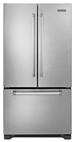 KitchenAid 22 Cu. Ft. Counter-Depth French Door Refrigerator, Pro Line Series