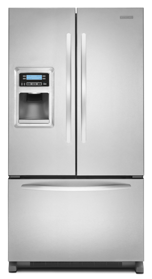 KitchenAid - KFIS20XVMS - 20 Cu. Ft. Counter-Depth French ...