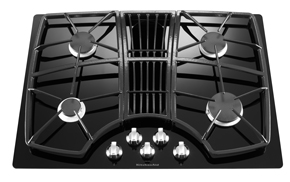 30-Inch 4 Burner Downdraft Gas Cooktop, Architect Series II