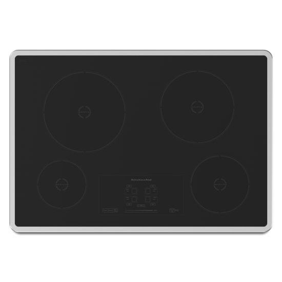 Model: KICU500XSS | 30-Inch 4 Element Induction Cooktop, Architect® Series II