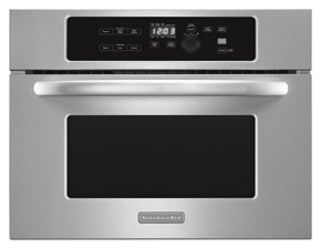 KitchenAid 24'', 1000-Watt Built-In Microwave, Architect Series II
