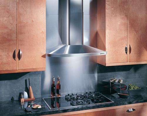 "Model: RM523004 | Broan 30"" Stainless Steel Chimney Hood, 370 CFM Internal Blower"