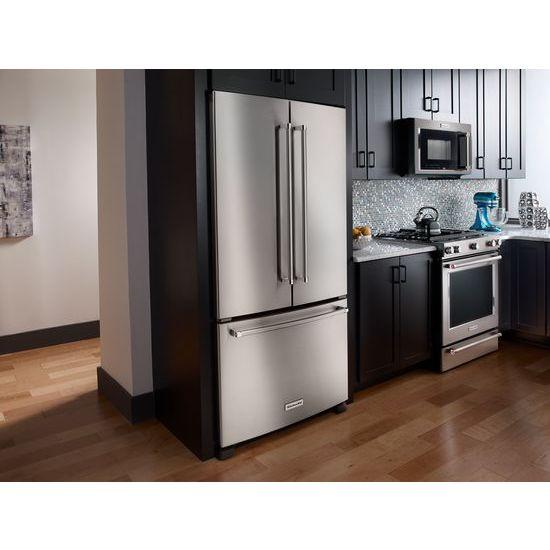 Kitchenaid Krfc302ess 22 Cu Ft 36 Inch Width Counter Depth