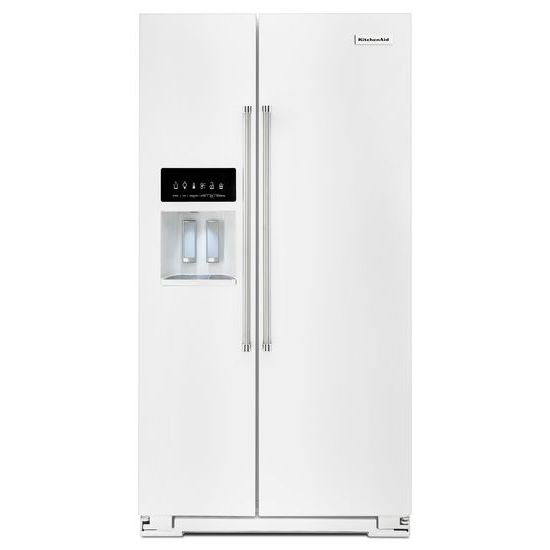 24.8 Cu. Ft. Standard Depth Side-by-Side Refrigerator with Exterior Ice and Water