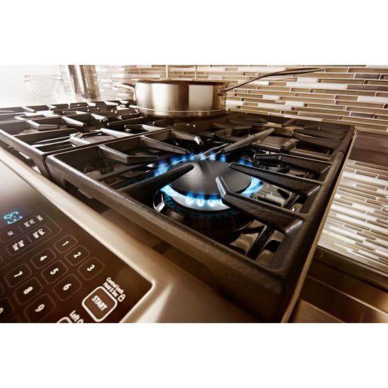 48u0027u0027 6 Burner With Griddle, Dual Fuel Freestanding Range, Commercial