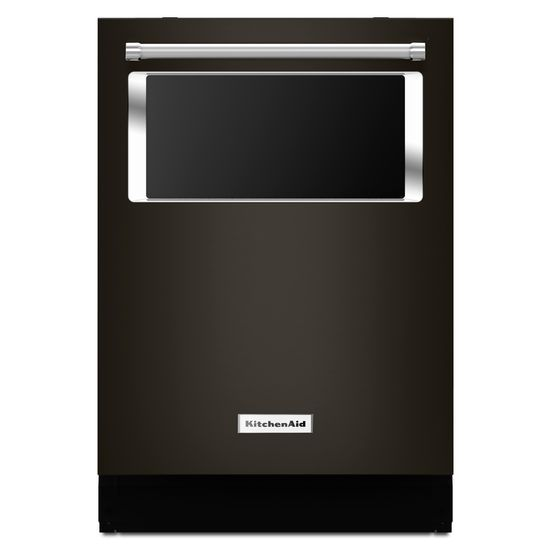 Model: KDTM384EBS | KitchenAid 44 dBA Dishwasher with Window and Lighted Interior