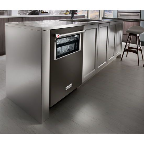 Model: KDTM384EBS | 44 dBA Dishwasher with Window and Lighted Interior