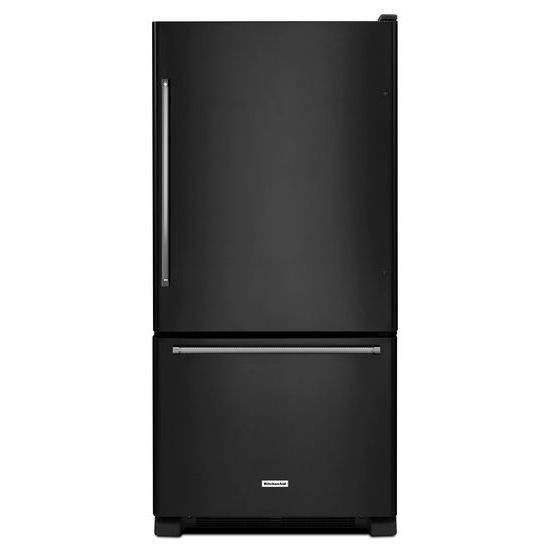 KitchenAid 19 cu. ft. 30-Inch Width Full Depth Non Dispense Bottom Mount Refrigerator