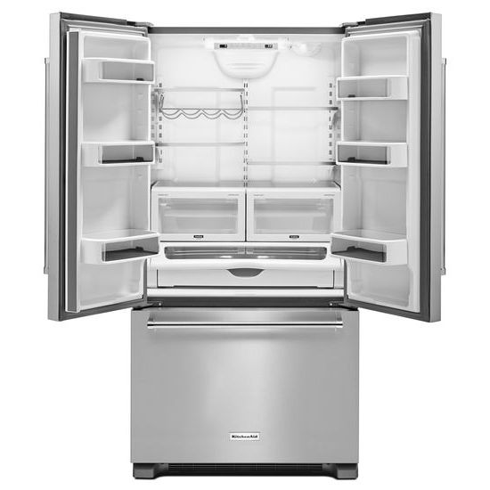 22 cu. ft. 36-Inch Width Counter Depth French Door Refrigerator with Interior Dispense