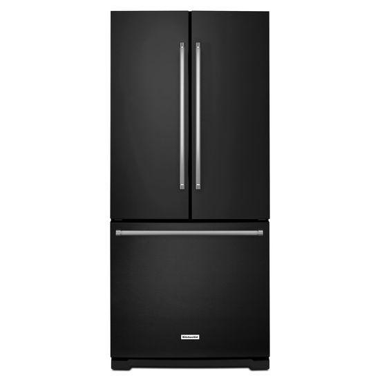 20 cu. Ft. 30-Inch Width Standard Depth French Door Refrigerator with Interior Dispense