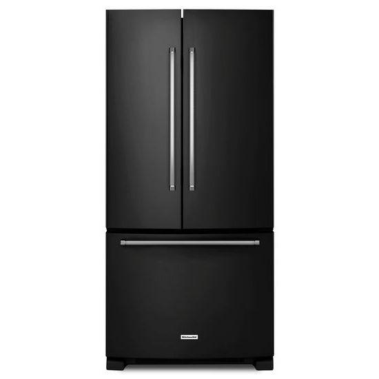 22 Cu. Ft. 33-Inch Width Standard Depth French Door Refrigerator with Interior Dispenser