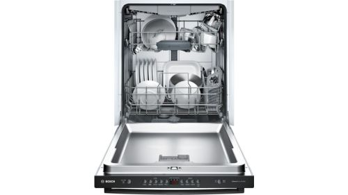 "Model: SHXM4AY56N | Bosch 24"" Bar Handle Dishwasher"