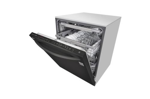 Model: LDT7808BM | LG Top Control Smart wi-fi Enabled Dishwasher with QuadWash™ and TrueSteam