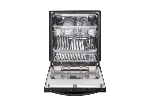 Model: LDT7808BM | LG Top Control Smart wi-fi Enabled Dishwasher with QuadWash™ and TrueSteam