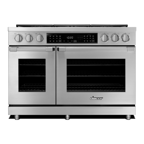"48"" Heritage Dual Fuel Pro Range - Stainless Steel  Liquid Propane High Altitude"
