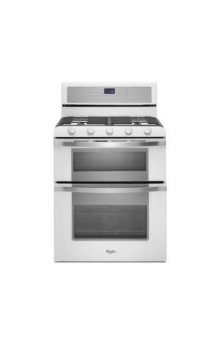 Whirlpool 6.0 Total cu. ft. Double Oven Gas Range with Convection Cooking