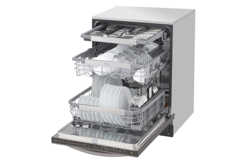 Model: LDT7808BD | LG Top Control Smart wi-fi Enabled Dishwasher with QuadWash™ and TrueSteam