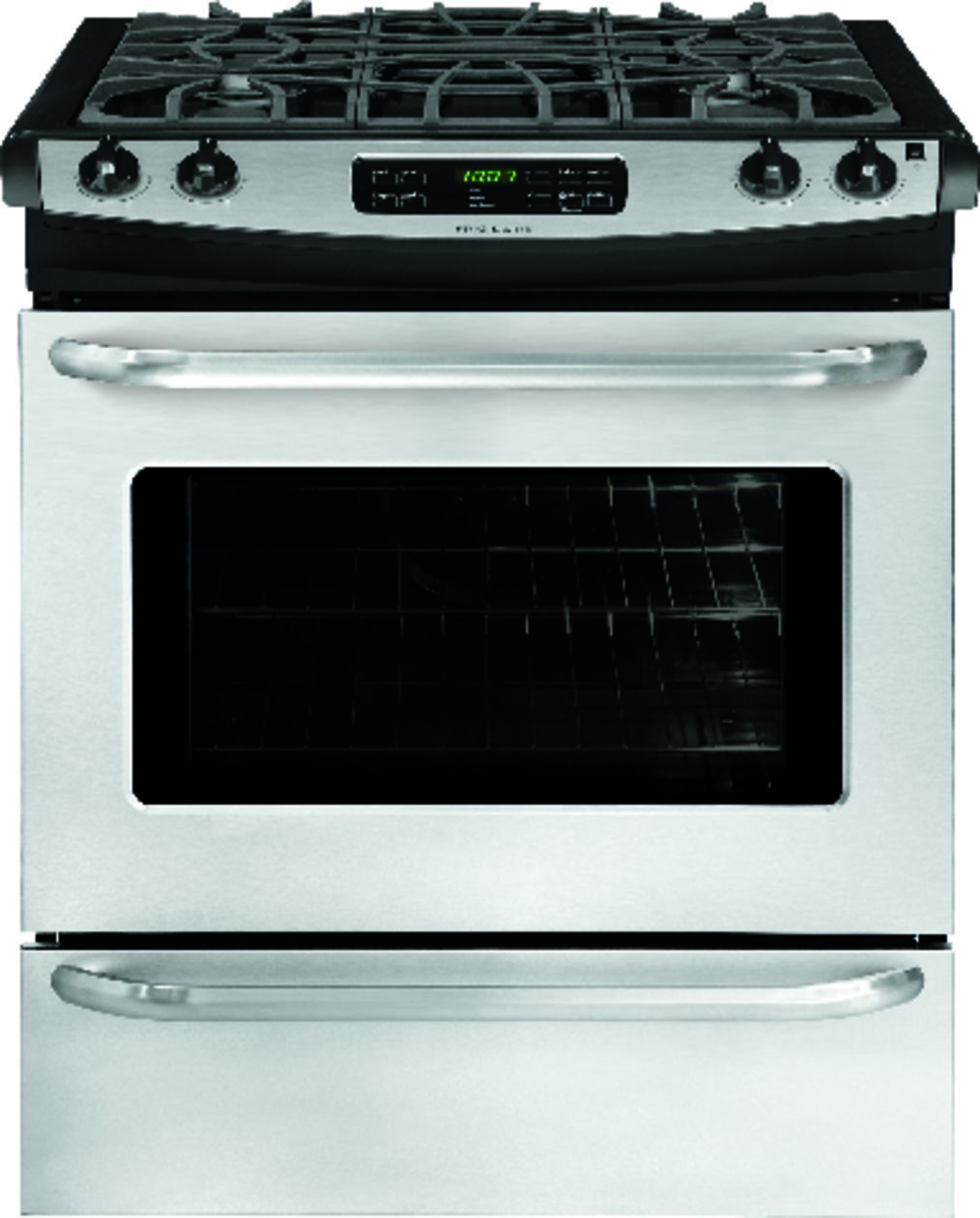 "Model: FFGS3025PS | Frigidaire 30"" Slide-In Gas Range"