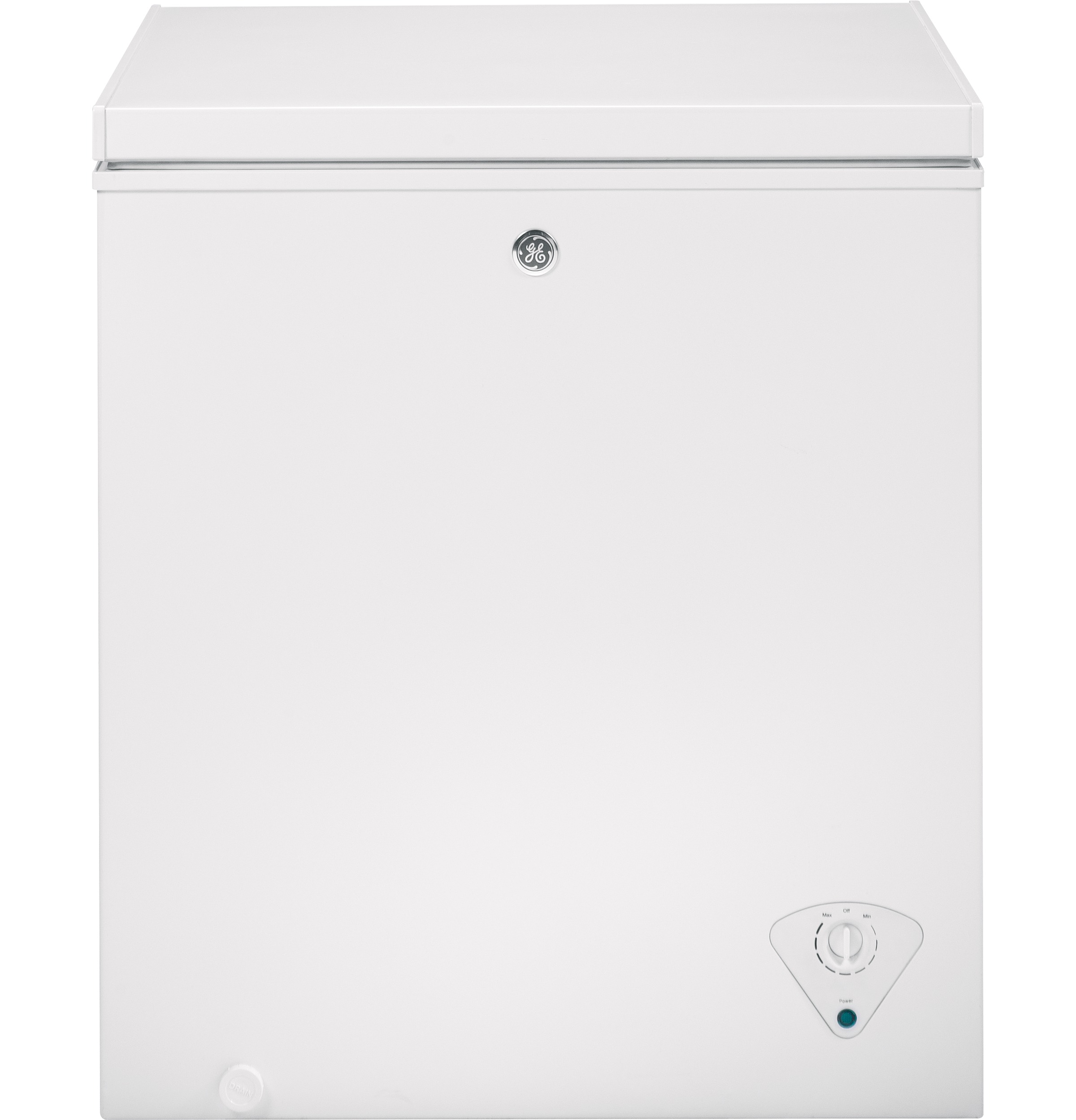 GE® 5.0 Cu. Ft. Manual Defrost Chest Freezer
