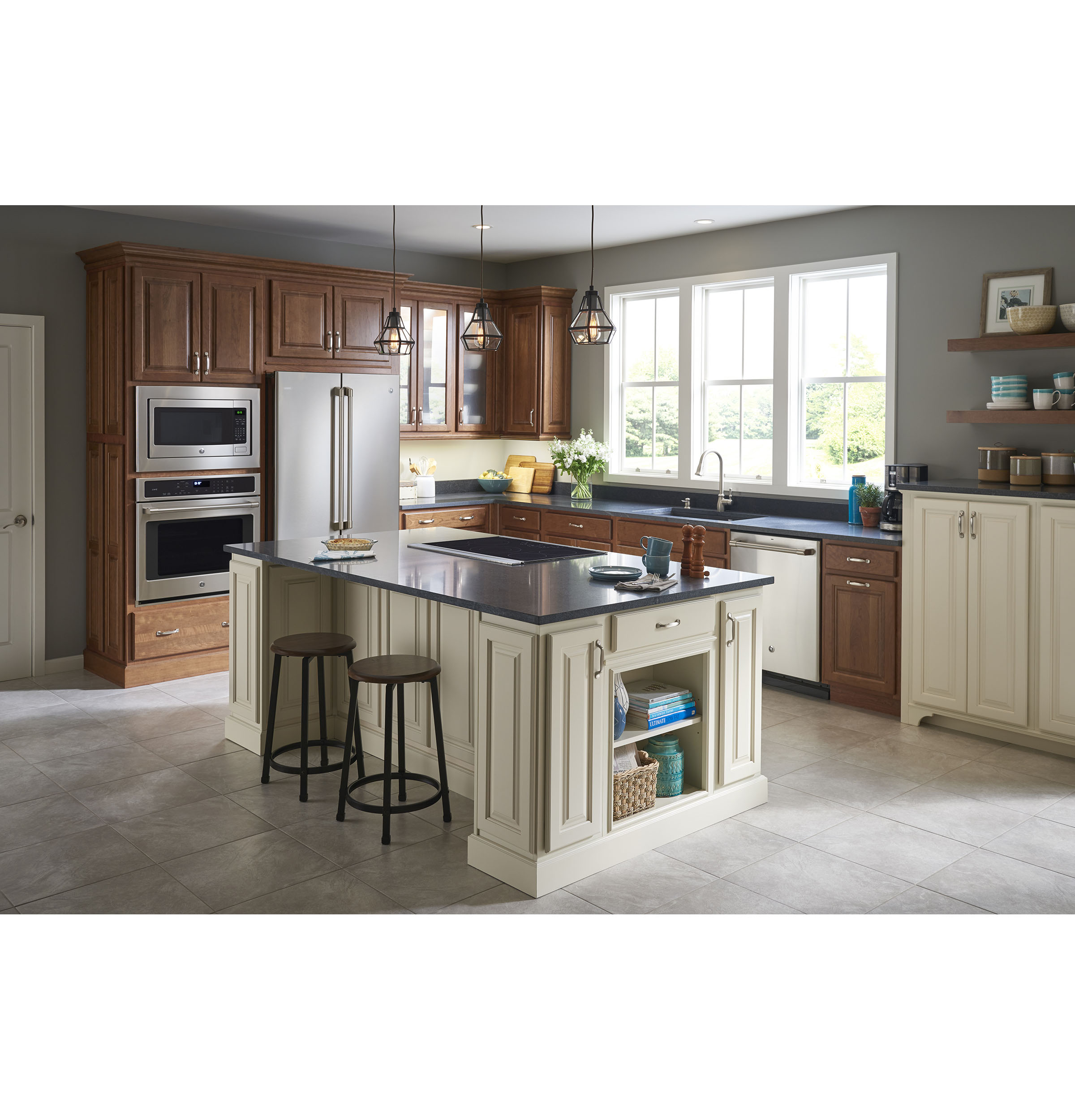 GE Café™ Series ENERGY STAR® 23.1 Cu. Ft. Counter Depth French