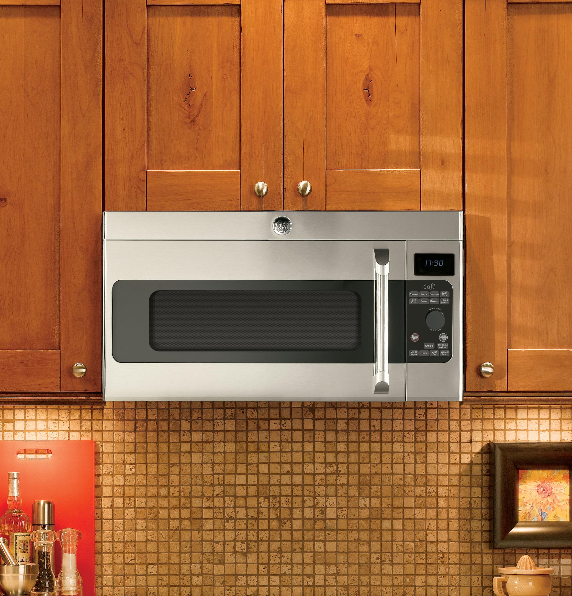 ge cafe range. GE Café™ Series 1.7 Cu. Ft. Over-the-Range Microwave Oven Ge Cafe Range